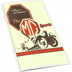 """1929 12 page booklet """"It Passes and Surpasses"""" 14/40, 18/80 and M-type."""