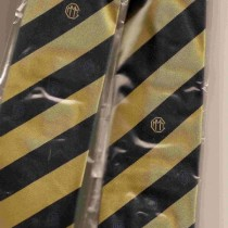 Good quality silk tie with Triple-M and 6 cylinder logo (including postage).
