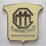 Triple M Register Lapel Badge