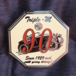 90th Anniversary Lapel badge.